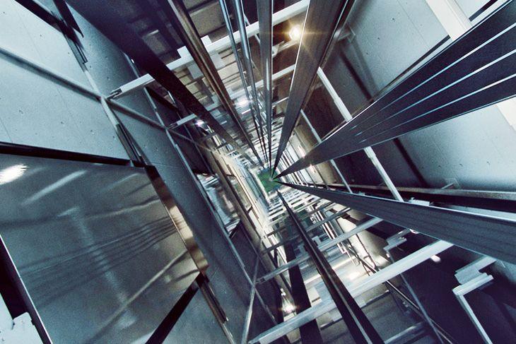 شماتیک کلی نصب آسانسور